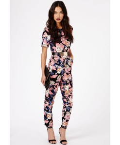 Missguided-Keiko-Floral-Jumpsuit